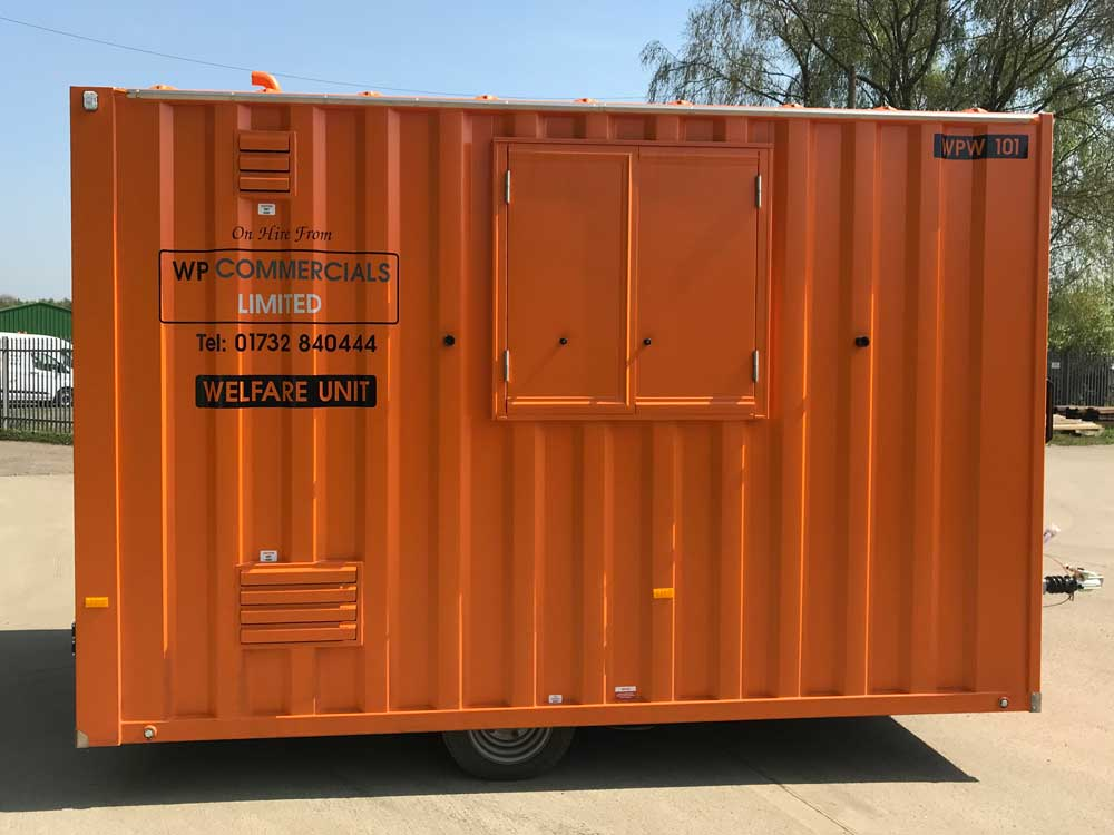 Welfare units for hire