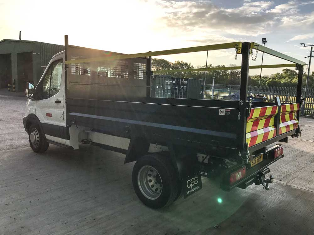 L2 Steel bodied tipper for hire