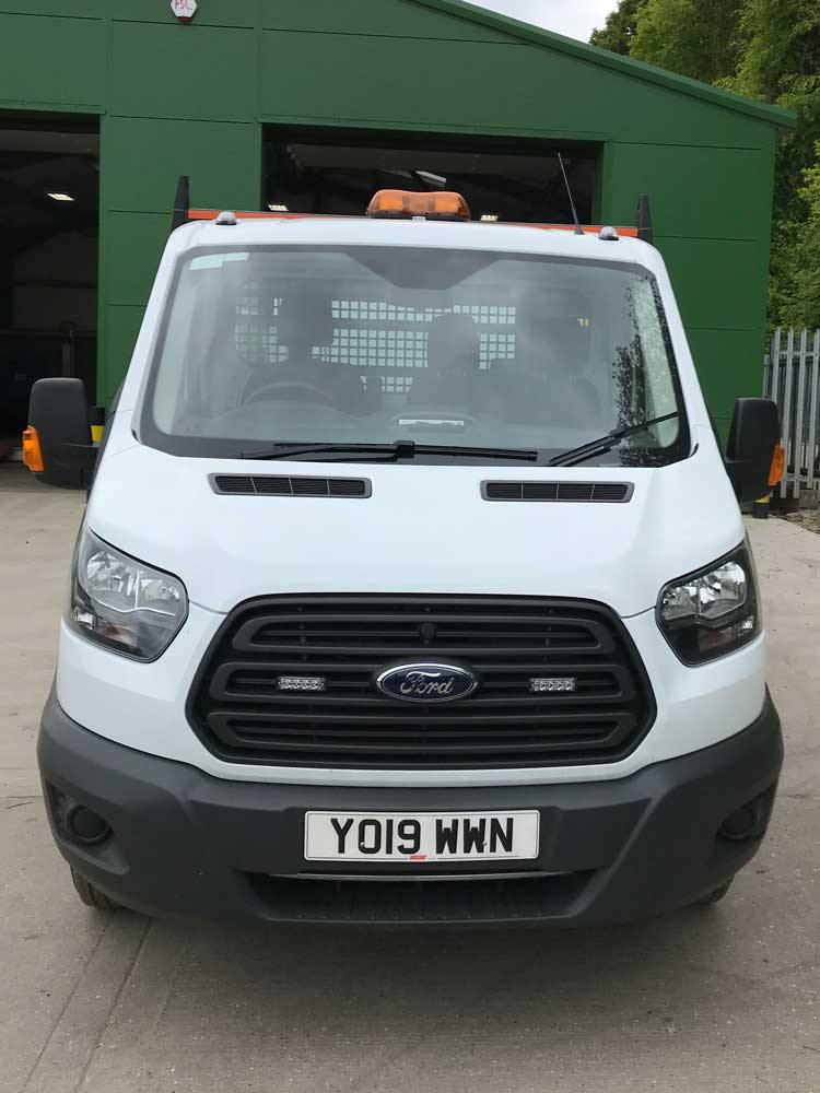 L4 alloy bodied dropside for hire