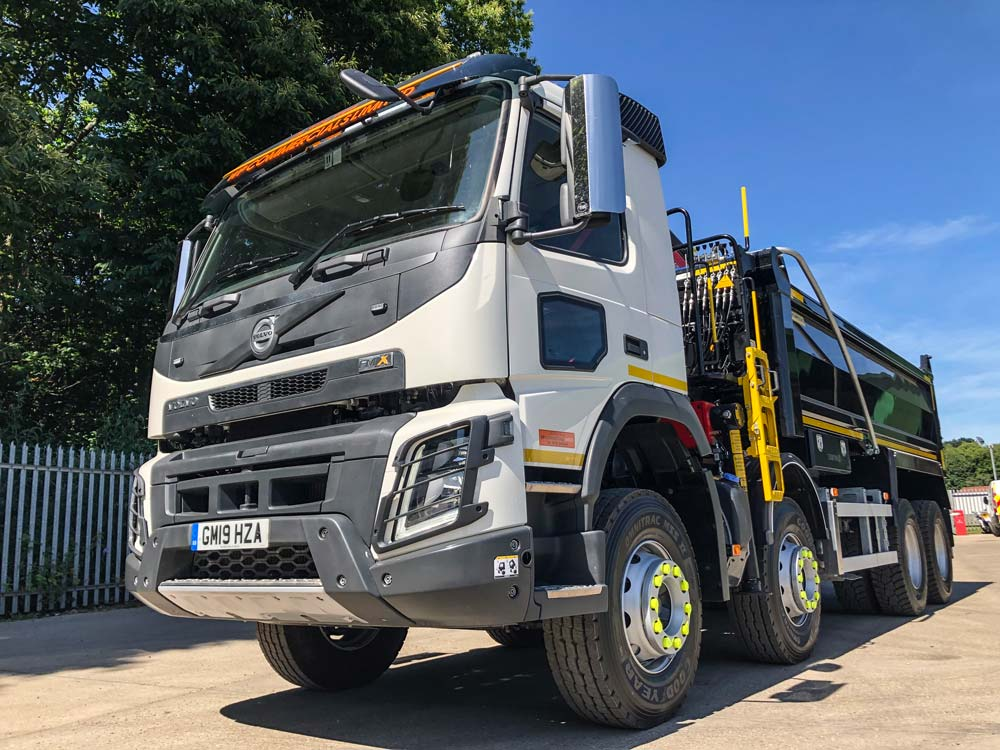 Volvo FMX Tipper Grab for hire