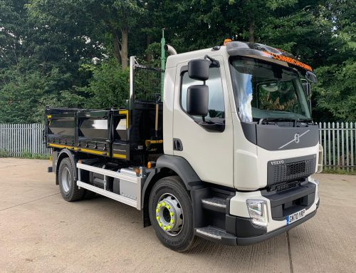 August 2020 New 18T Volvo added to the fleet