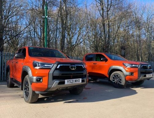 Arrival of two new Toyota Hillux Crew cab pick-ups