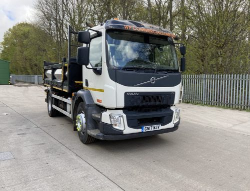 Volvo FL Automatic 4×2 Tipper GN17 WZV – 159,000 kms